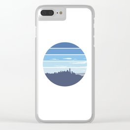 New York in the Spring Clear iPhone Case