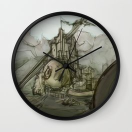 Giant's Crown Wall Clock