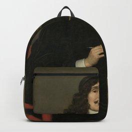Gerard van Honthorst - Portrait of an Artist Backpack
