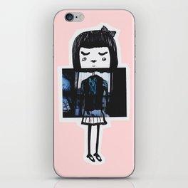 Polaroid Girl iPhone Skin