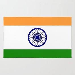 India: Indian Flag Rug