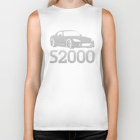 honda Biker Tanks featuring Honda S2000 - silver - by Vehicle