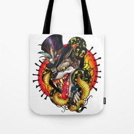Voodoo Wolf Daddy Tote Bag