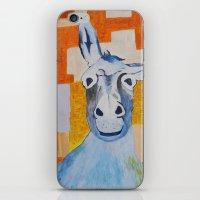 donkey iPhone & iPod Skins featuring DONKEY by Leonard Lesic