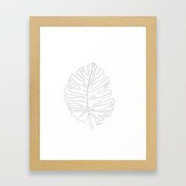 Monstera Framed Art Print