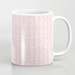 Vertical Herringbone Coffee Mug