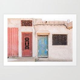 Doorways - Morocco V Art Print