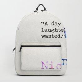 Nicolas Chamfort quote Backpack