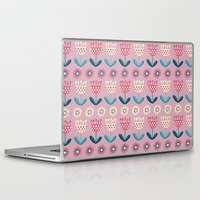 tulips Laptop & iPad Skins featuring Tulips by Valendji