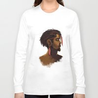 medicine Long Sleeve T-shirts featuring Medicine Man by gravityjump