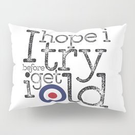 I hope I try before I get old… Pillow Sham