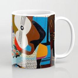 Pablo Picasso, Mandolin and Guitar (Mandoline et guitare) 1924 Artwork Coffee Mug