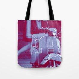 scooter violet tonton AL Tote Bag