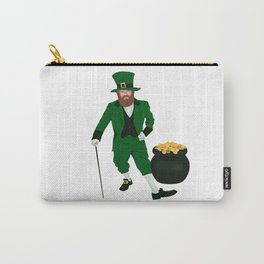 Leprechaun with a Pot of Gold Carry-All Pouch
