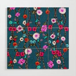 Spring Flowers Decò Wood Wall Art