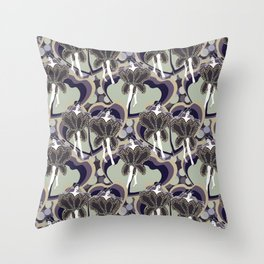 deco dancers Throw Pillow