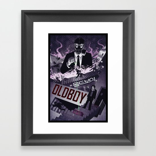 Oldboy [limited color] Framed Art Print