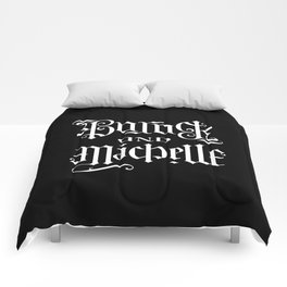 Barack and Michelle Comforters