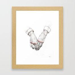Bloody Knuckles II Framed Art Print
