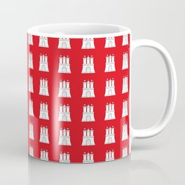 Flag of hamburg 2 Coffee Mug