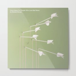Modest Mouse - Good News for People Who Love Bad News Metal Print