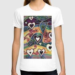 Funky Hearts T-shirt
