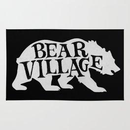 Bear Village - Polar Rug