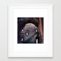 laputa Framed Art Prints featuring From Roma to Laputa by Guillaume '96' Bonte