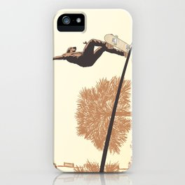 SKATER CROOKED iPhone Case