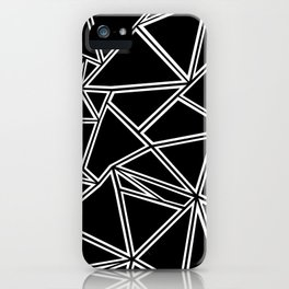Shattered Ab Zoom iPhone Case