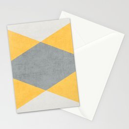 summer time triangles Stationery Cards