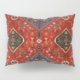 N65 - Colored Floral Traditional Boho Moroccan Style Artwork Pillow Sham