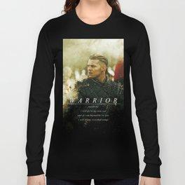 Warrior Watch Me - Ivar The Boneless Long Sleeve T-shirt