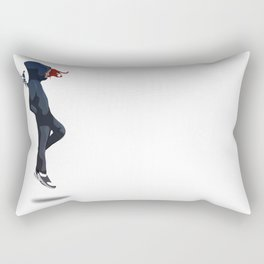 Lend me your wings.  Rectangular Pillow