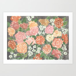 Dusty Rose Art Print