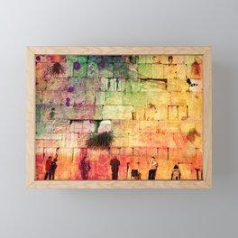 kotel Framed Mini Art Print
