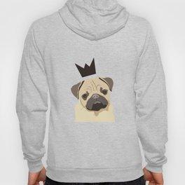 Royal pug Hoody
