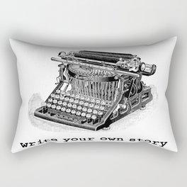Write Your Own Story Rectangular Pillow