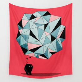 The Pondering Wall Tapestry