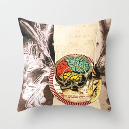 telegraph the meaning Throw Pillow