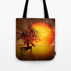 Visions of fire Tote Bag