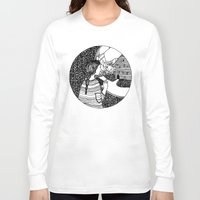window Long Sleeve T-shirts featuring window by kamilah