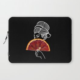 Blood Orange Geisha Laptop Sleeve