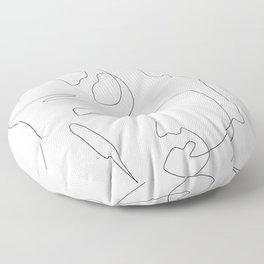Sculpt Floor Pillow