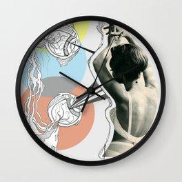 fish eye Wall Clock