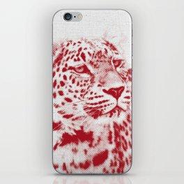 Leopard 01 iPhone Skin