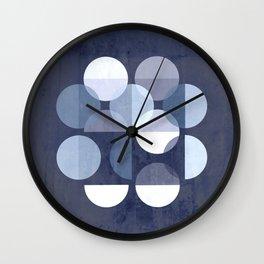 Indigo MOONS Wall Clock