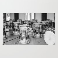 drums Area & Throw Rugs featuring Traditional Jaangu_Korean Drums by Jennifer Stinson