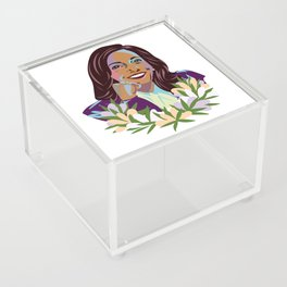 Madam Vice President for the People Acrylic Box