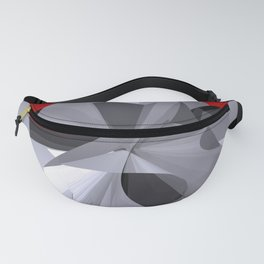 polynomial and opart -50- Fanny Pack